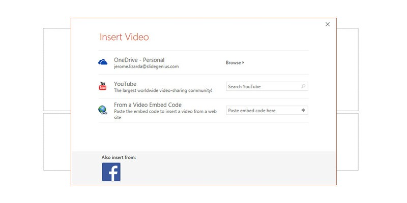 how to insert video in powerpoint 2016