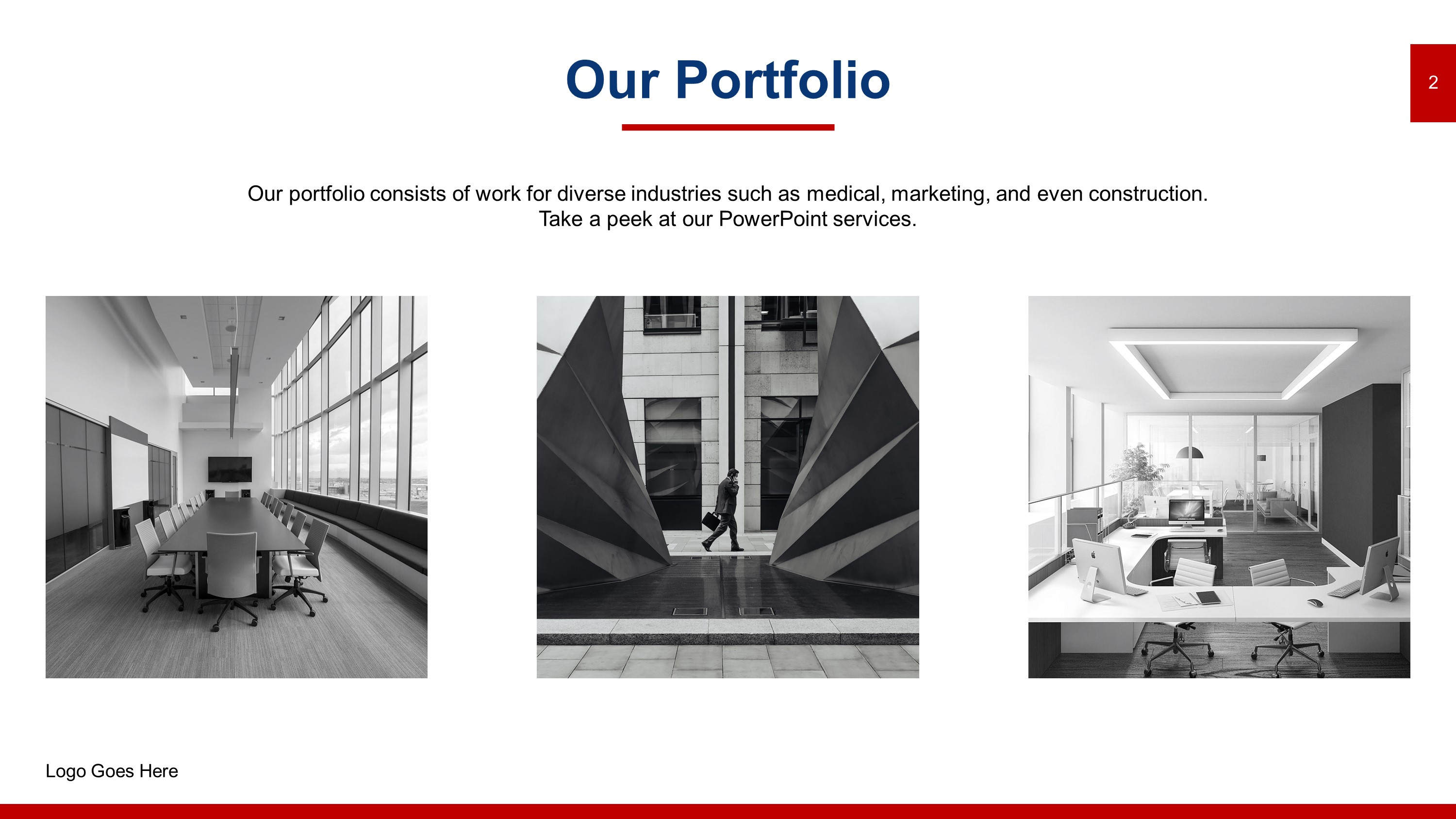 Download Free Sleek Portfolio PowerPoint Templates | SlideStore