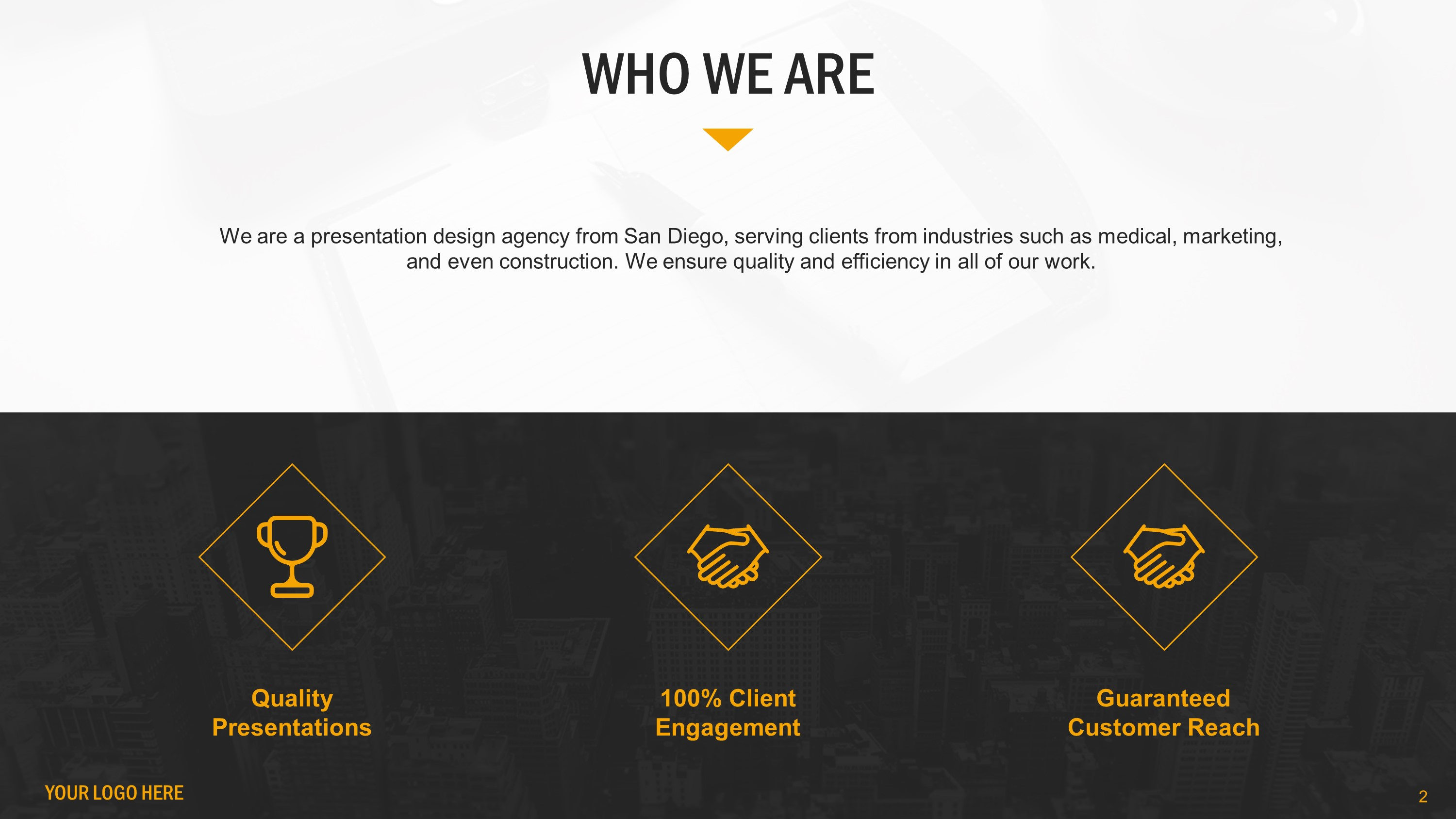 Who We Are Slide Bundle for PowerPoint