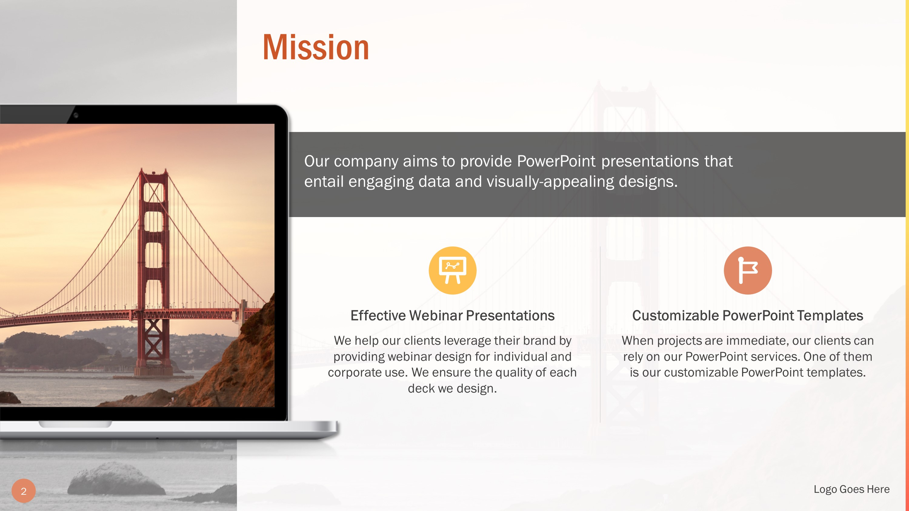Professional Our Mission Slide Bundle for PowerPoint
