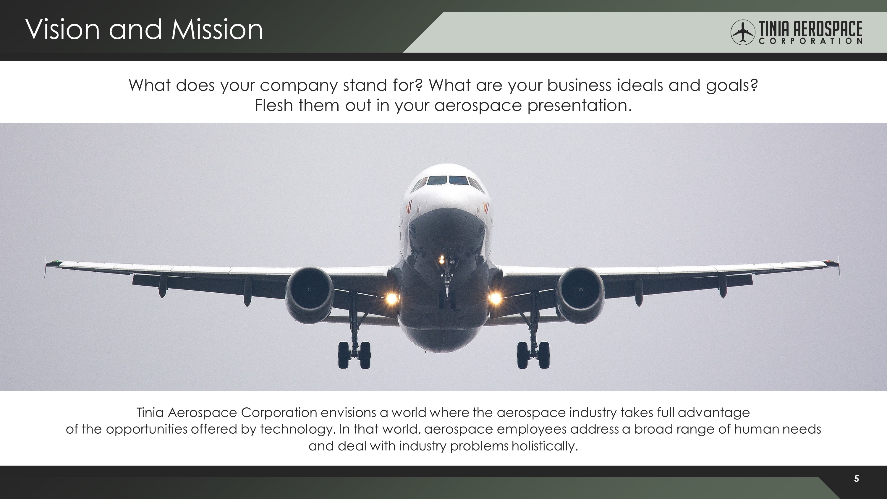 Aerospace Premium PowerPoint Template