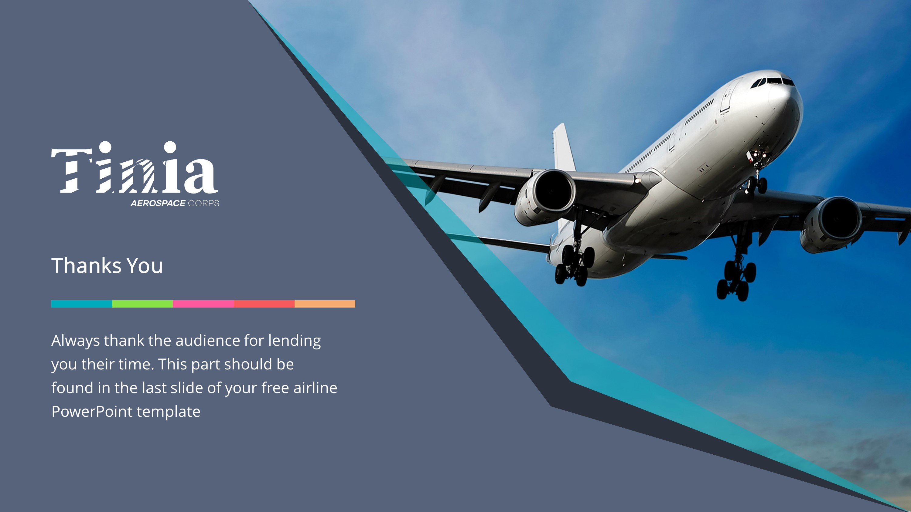 Aviation Premium PowerPoint Template