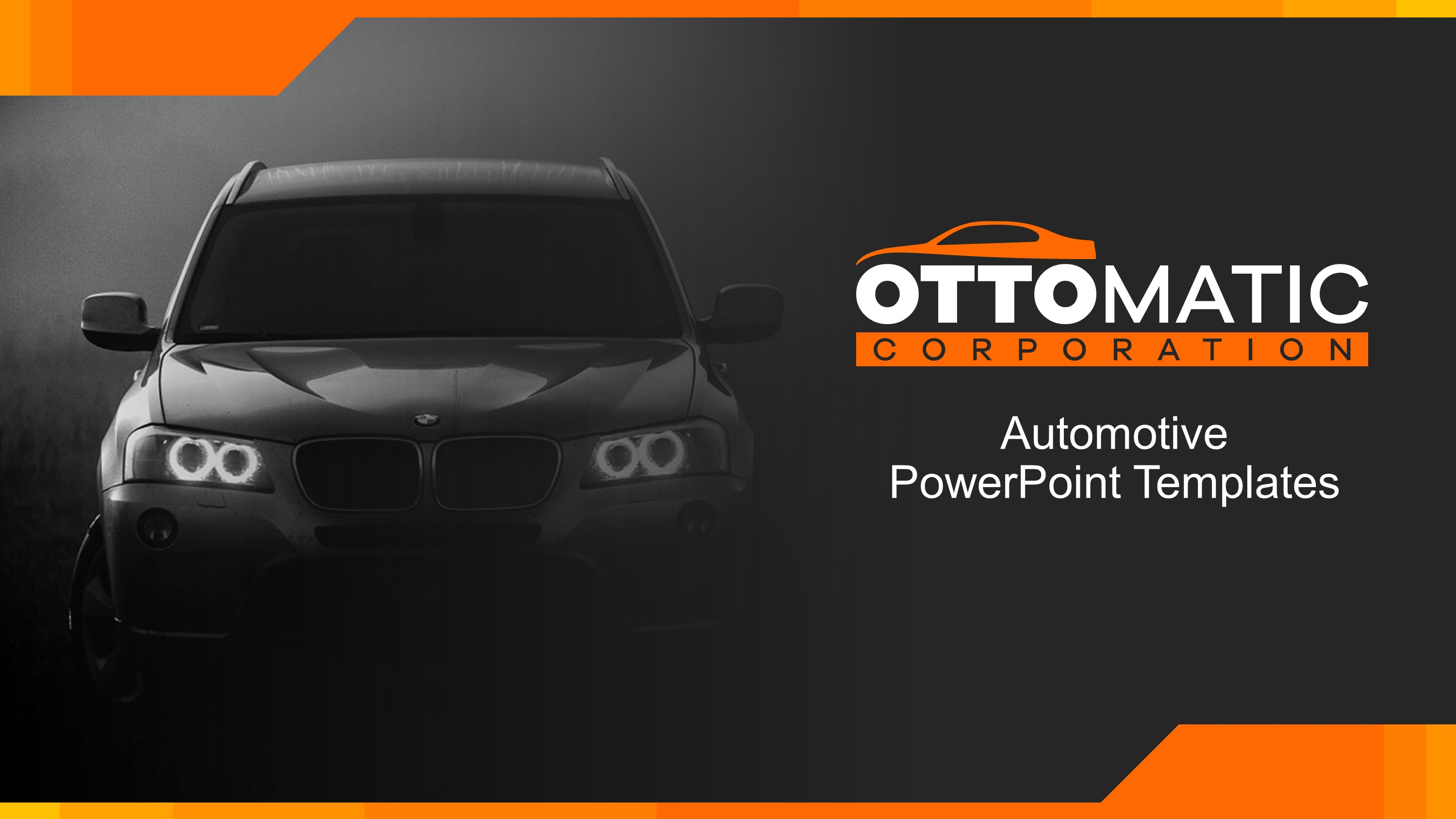 automotive company premium powerpoint template slidestore