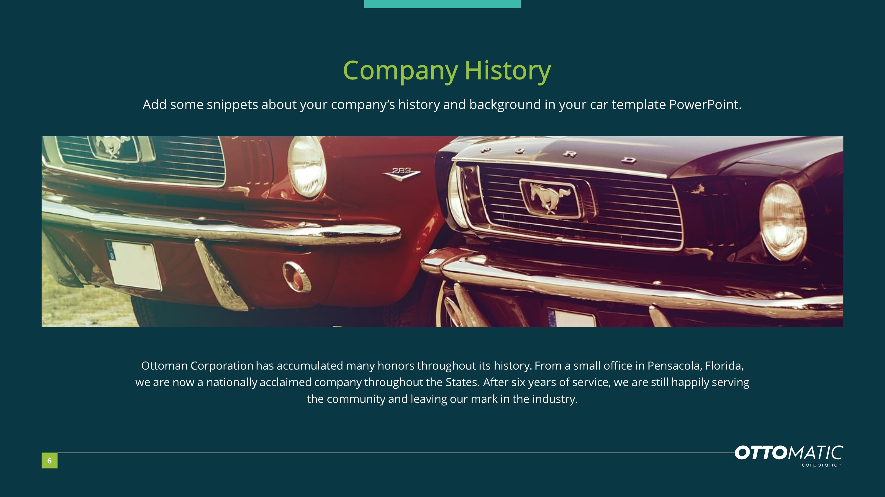 Car Company Premium PowerPoint Template