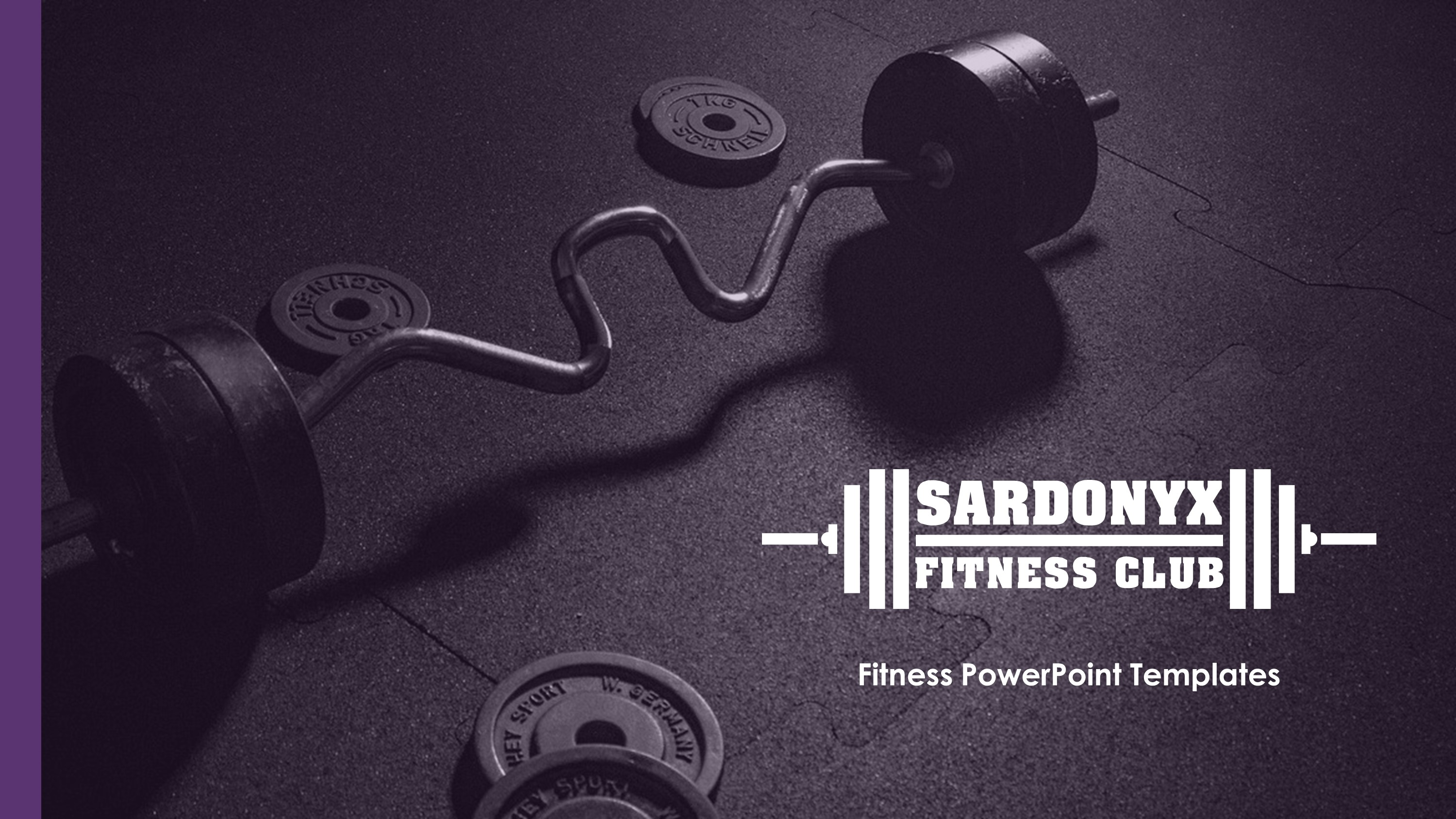 Gym Premium PowerPoint Template