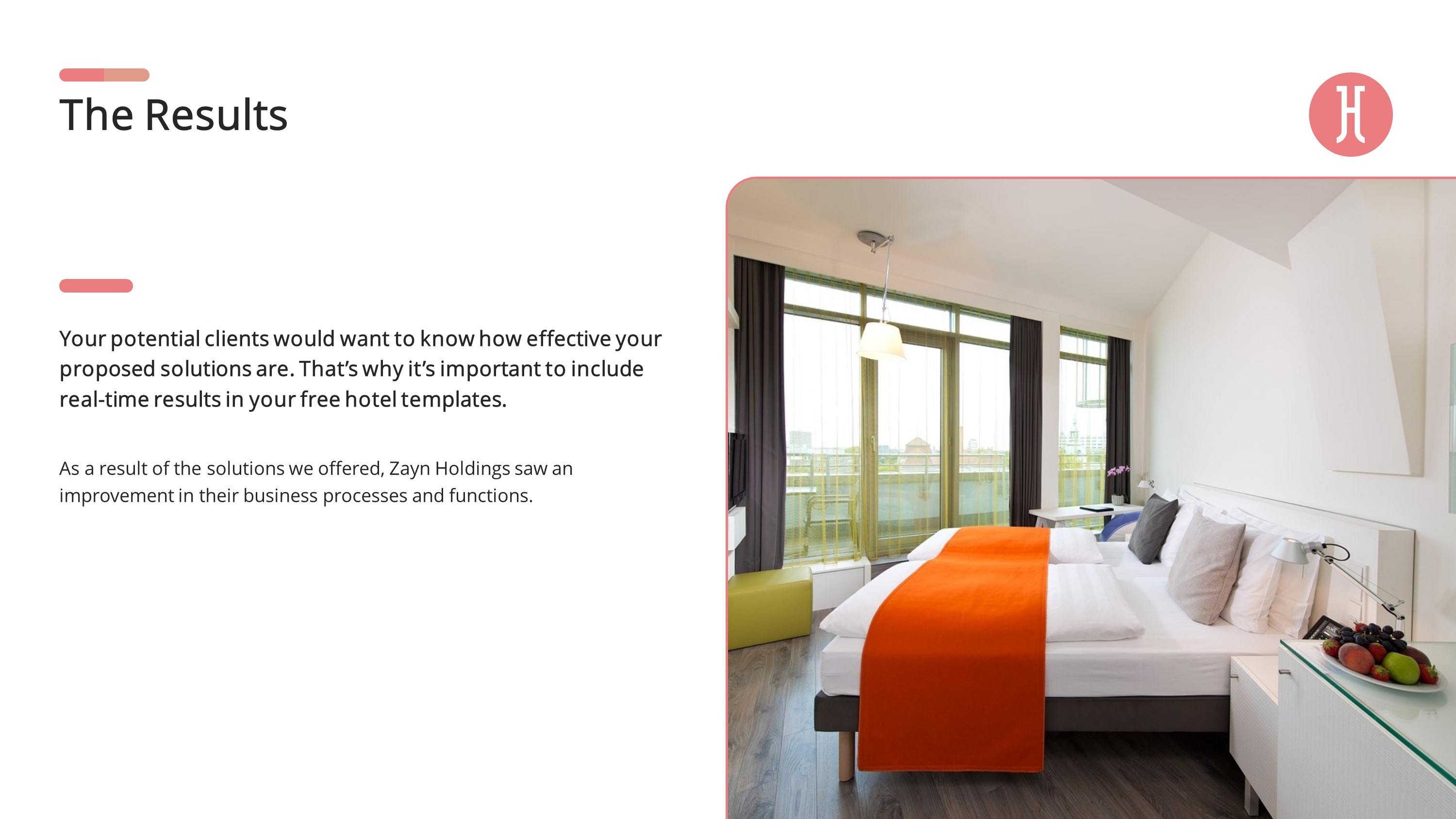 Hotel Business Premium PowerPoint Template