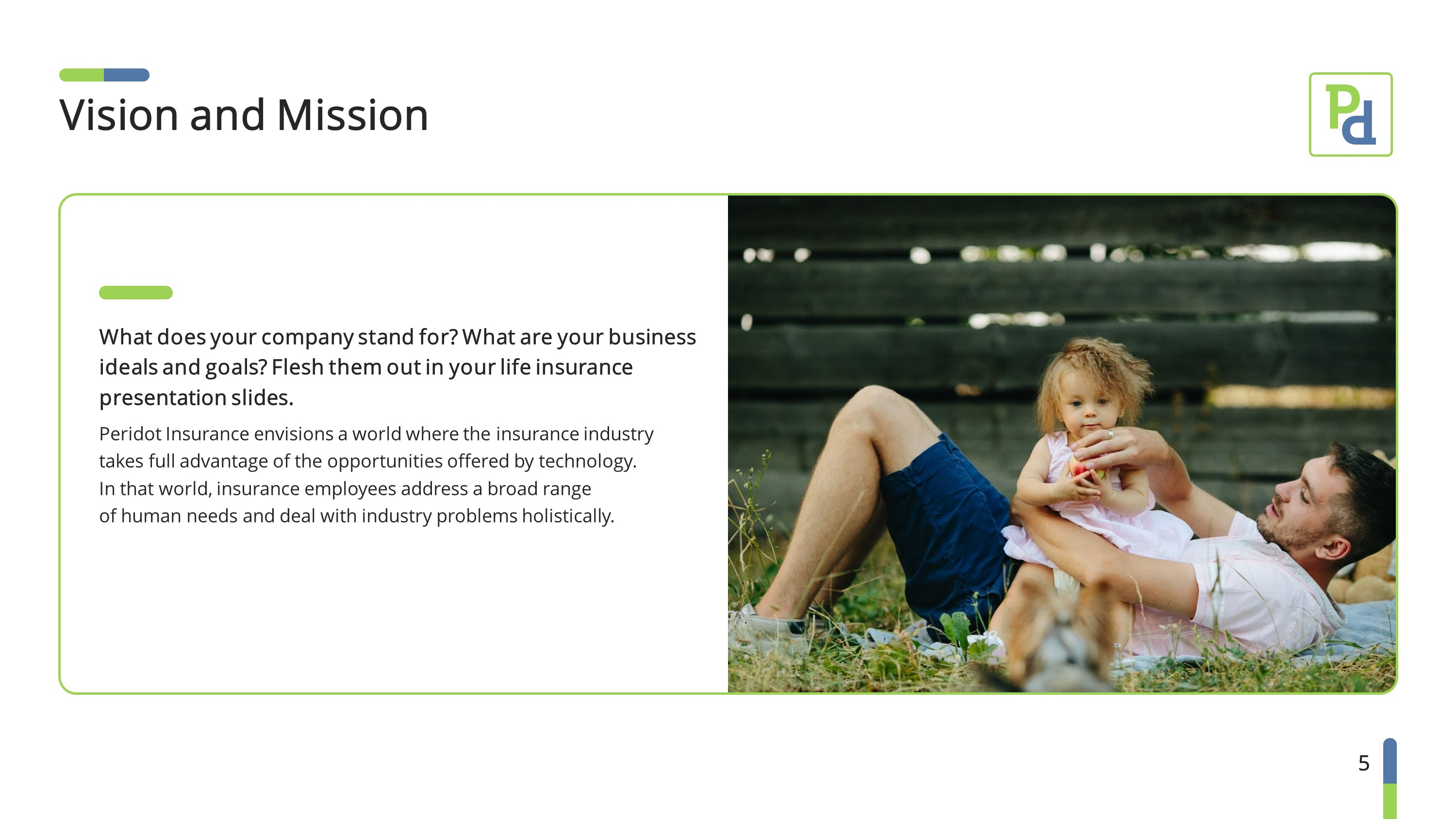 Insurance Business Premium PowerPoint Template
