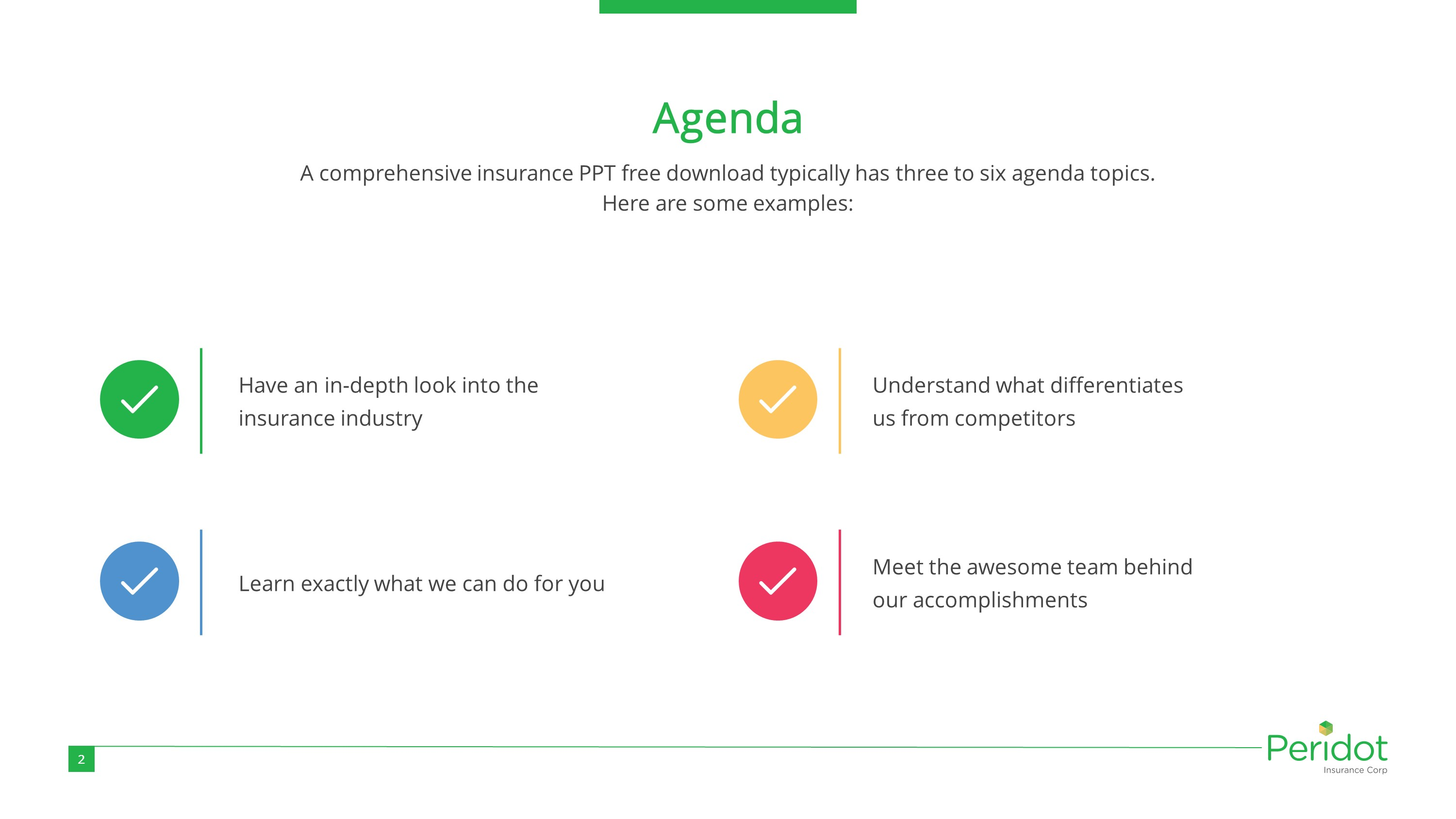Life Insurance Premium PowerPoint Template