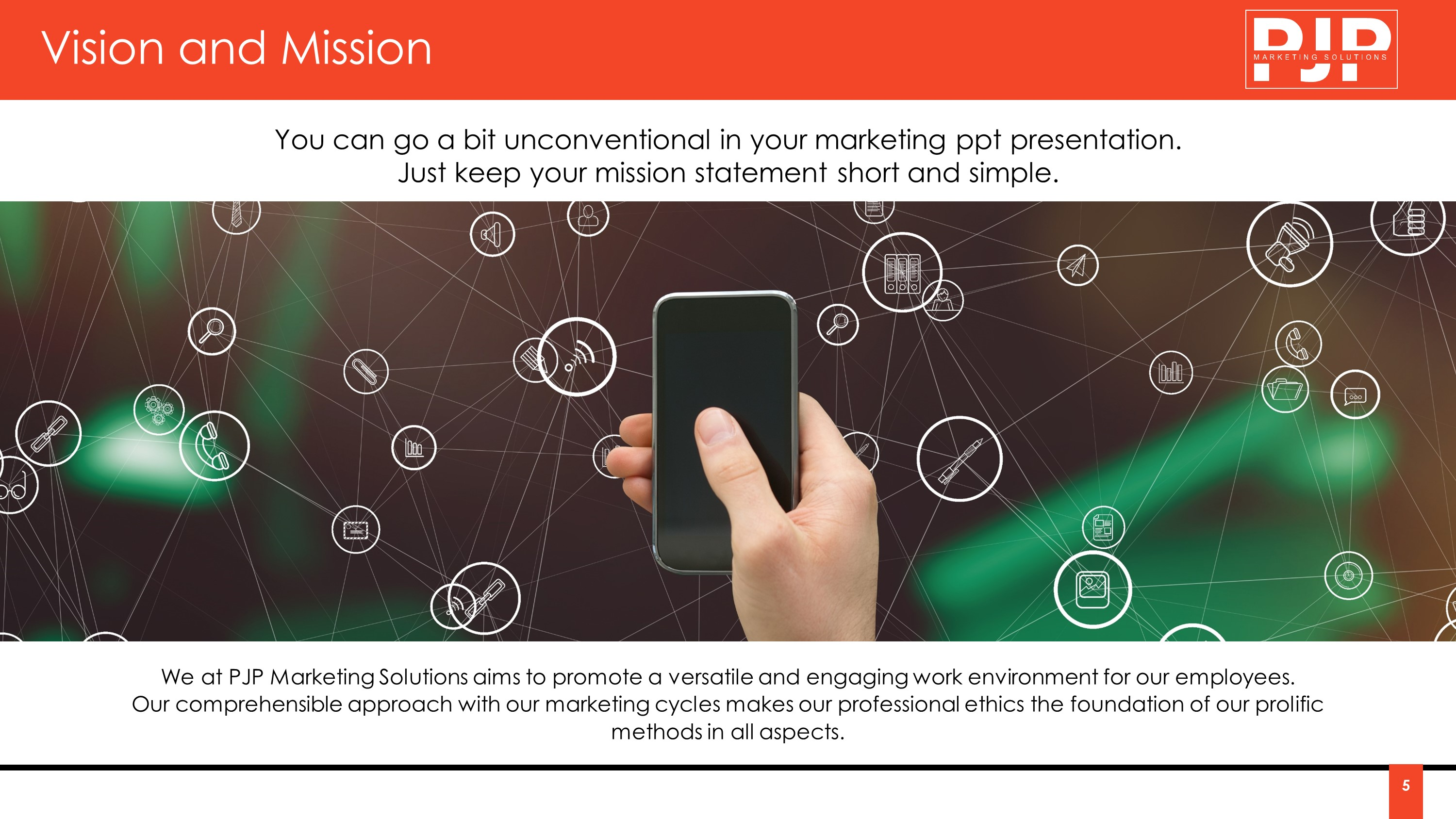 Marketing Strategy Company Premium PowerPoint Template
