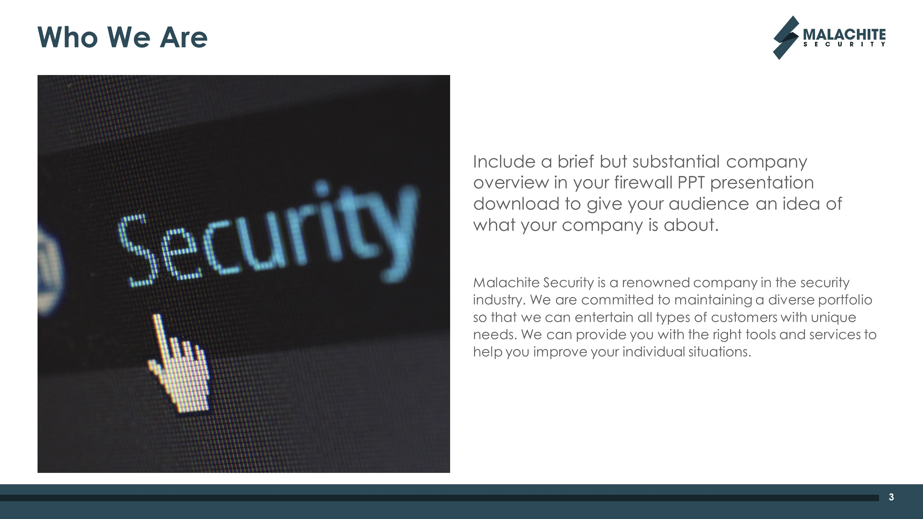 Cyber Security Premium PowerPoint Template
