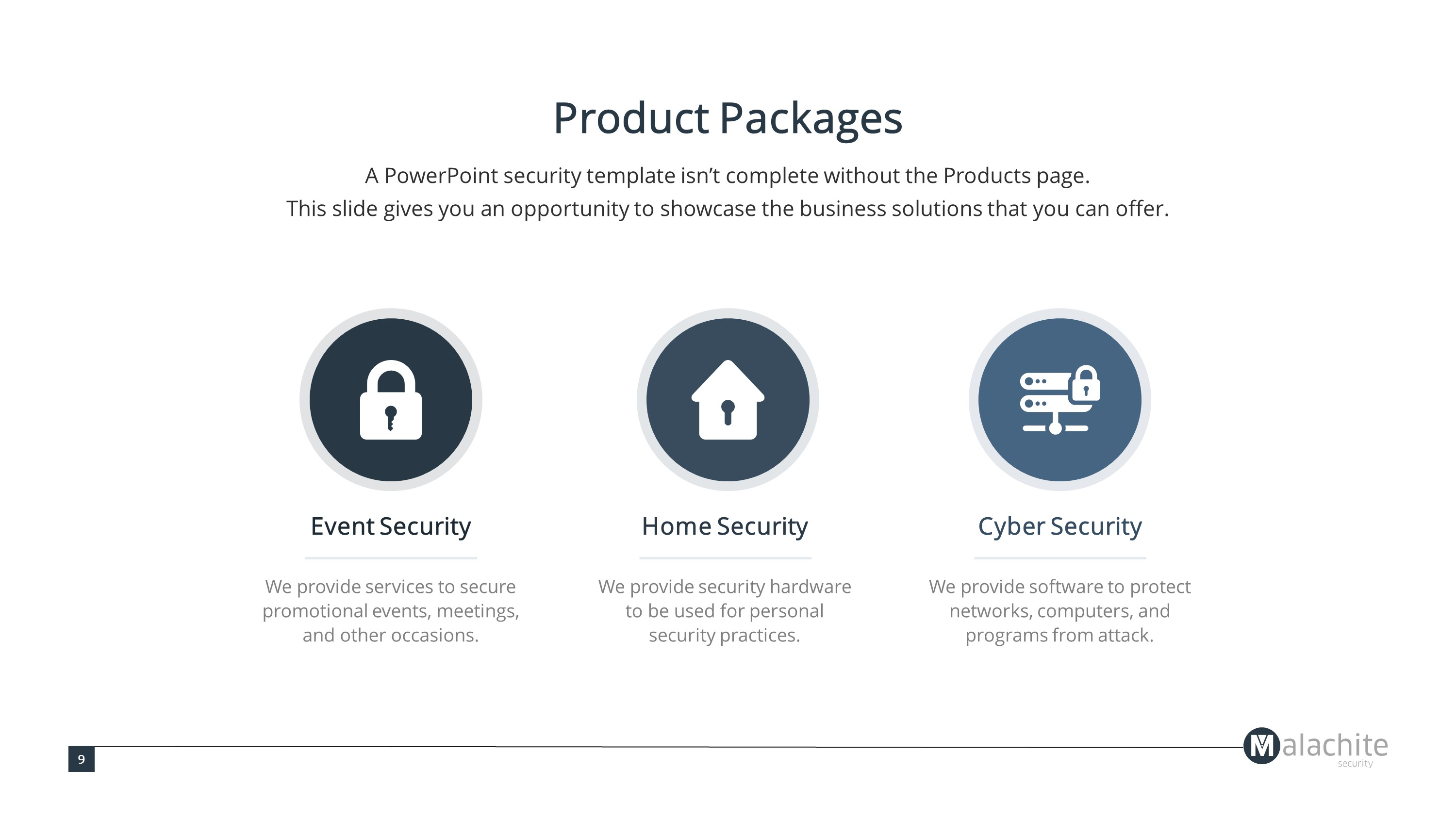 Internet Security Premium PowerPoint Template
