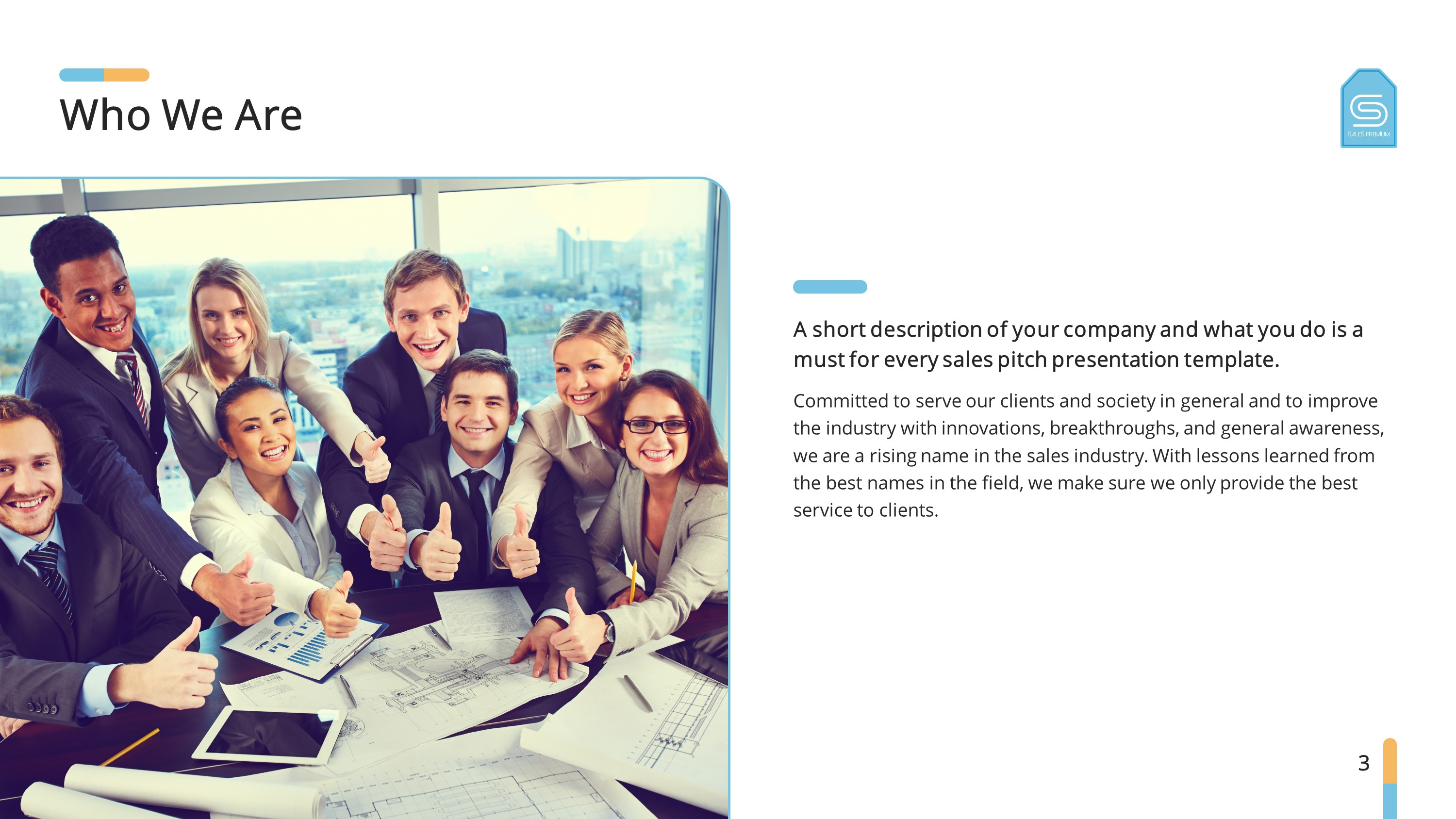 Sales Training Premium PowerPoint Template