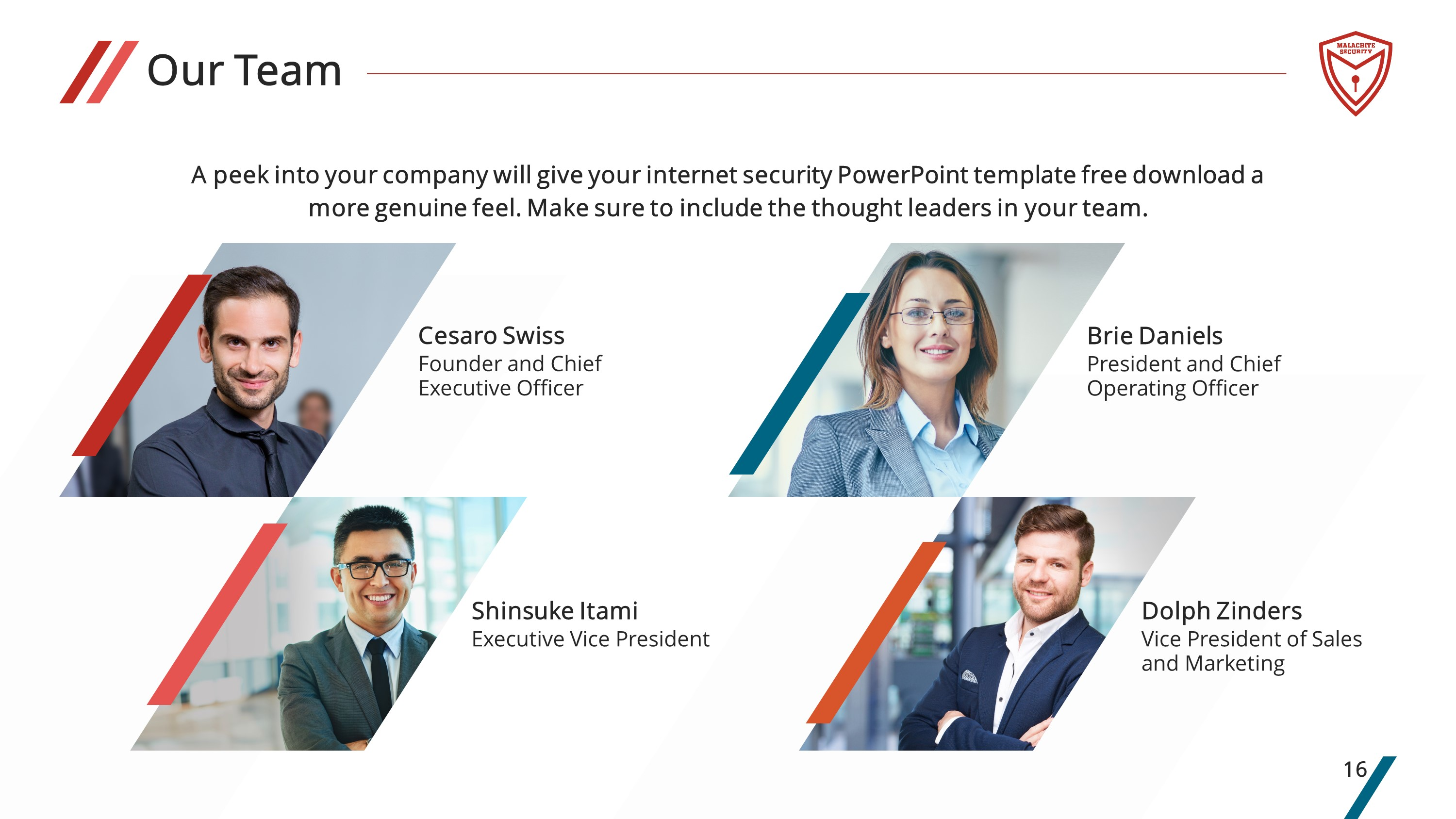 Security Premium PowerPoint Template
