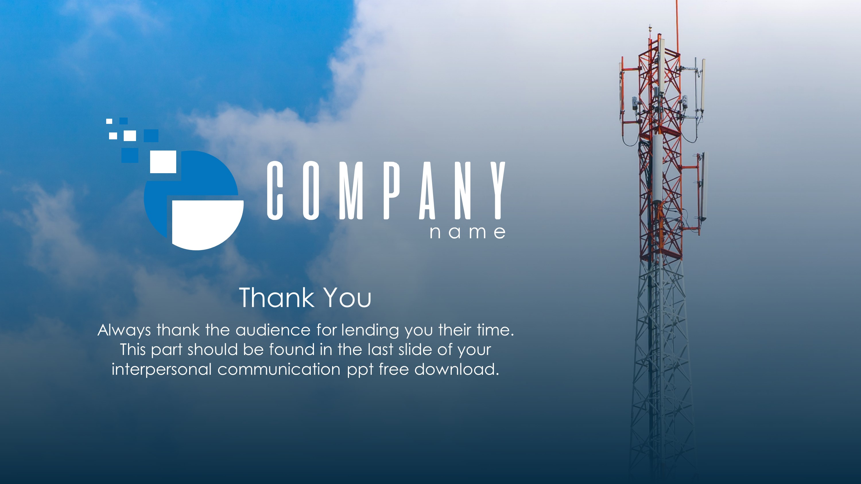 Communications Plan Premium PowerPoint Template
