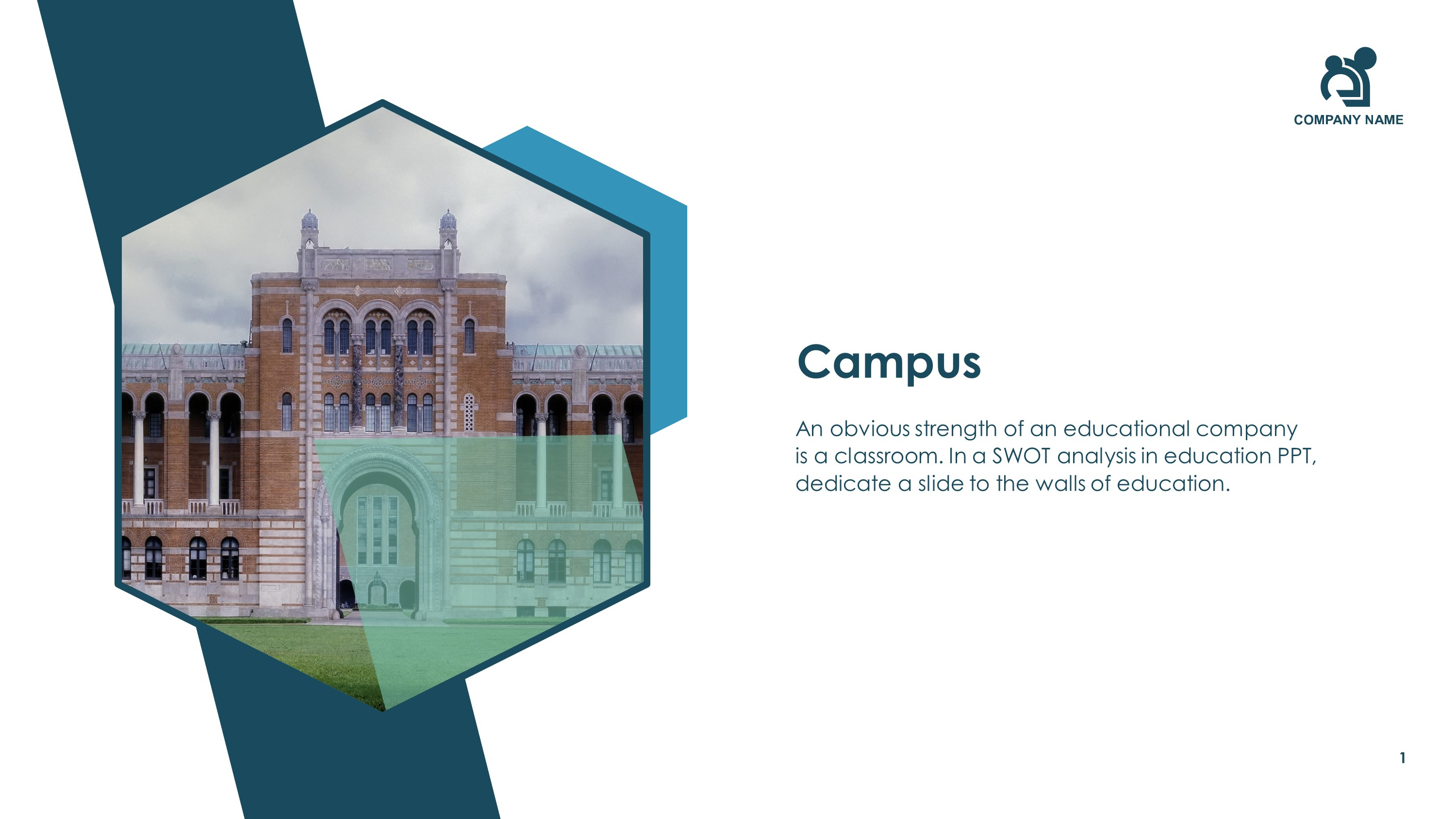 Free Educational Campus PowerPoint Slide