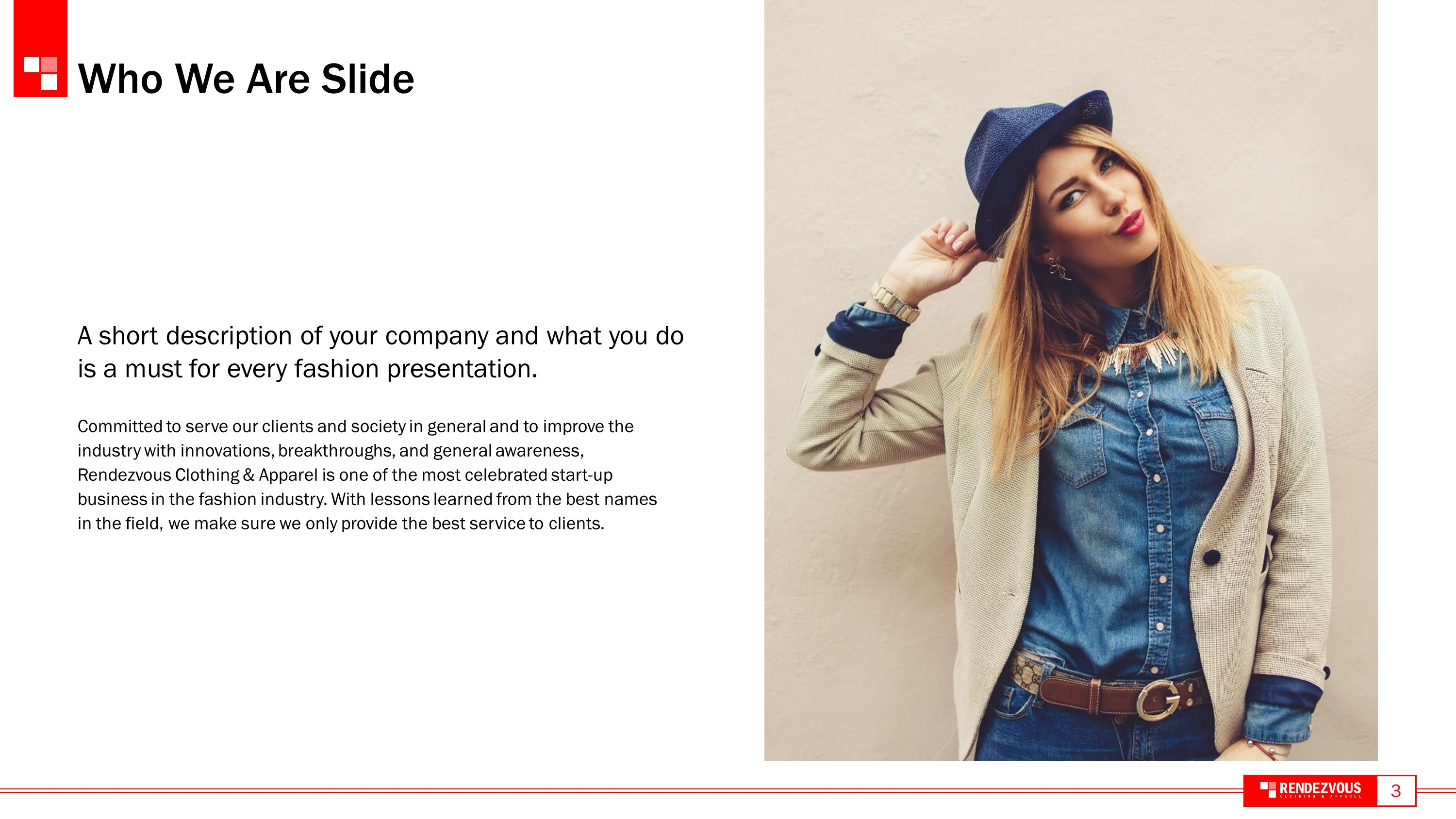 Modern Fashion Premium PowerPoint Template