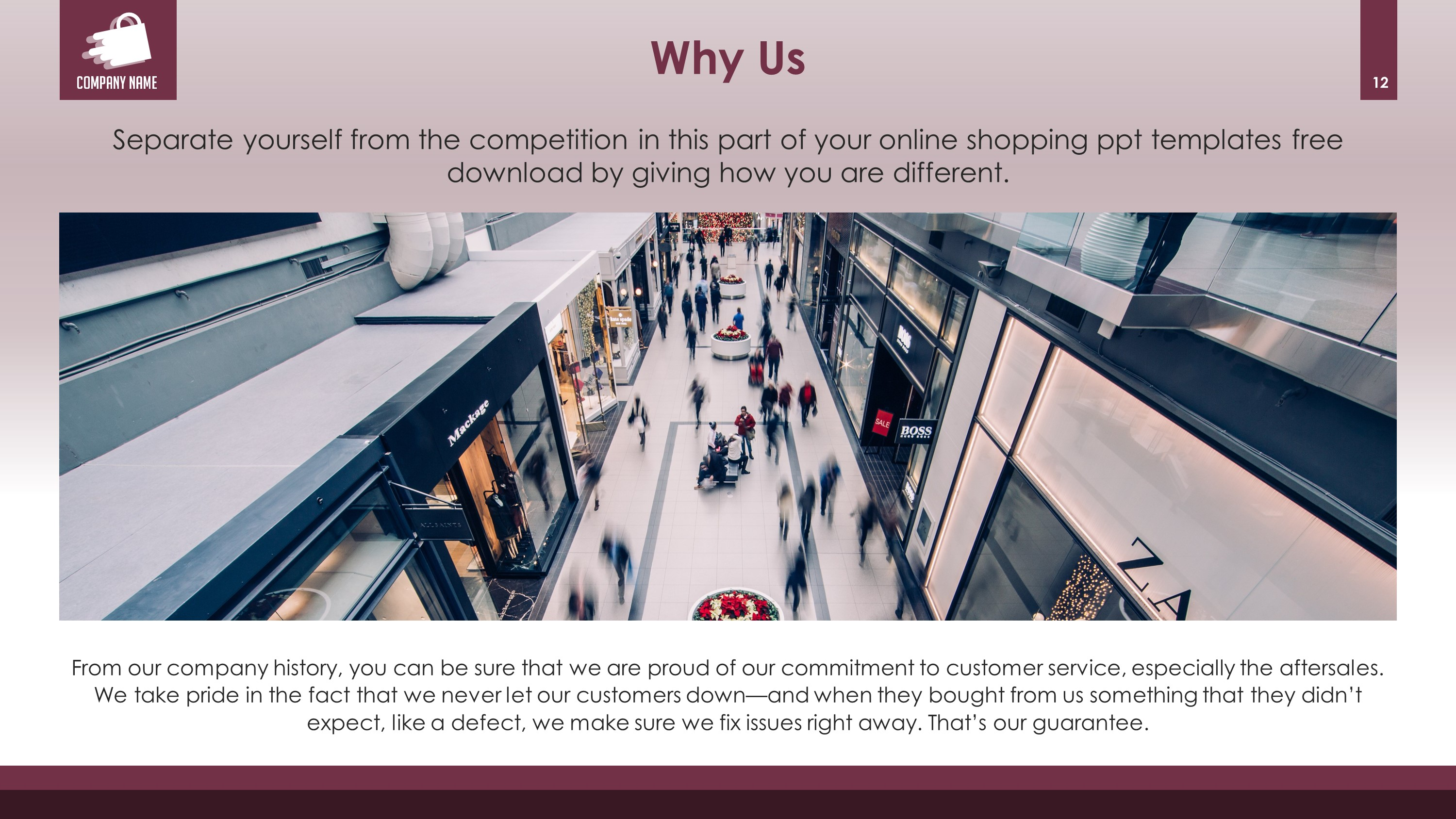 Retail Business Premium PowerPoint Template