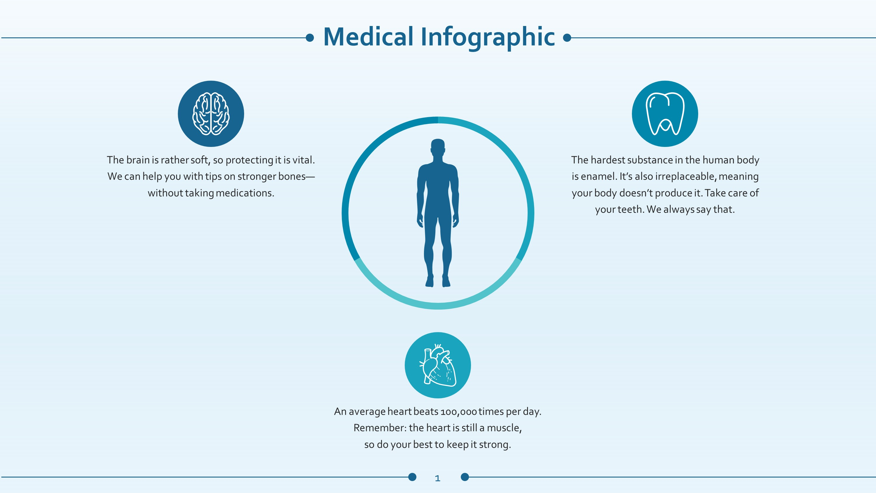 Healthcare premium powerpoint slide template slidestore free medical infographic powerpoint slide toneelgroepblik Choice Image