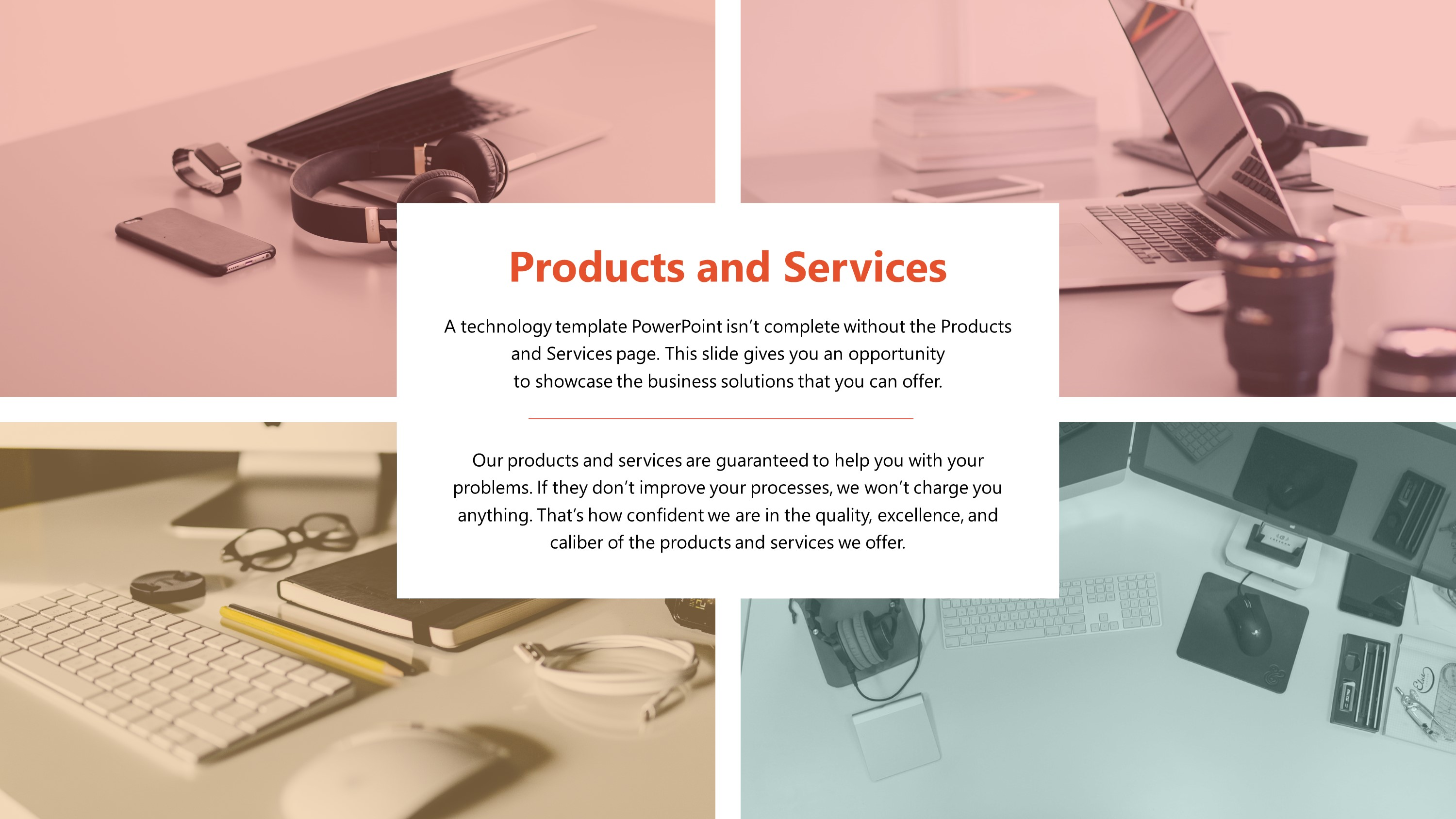 Free Technology Products and Services PowerPoint Slide