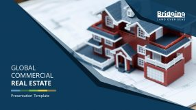 Global Commercial Real Estate Premium PowerPoint Template